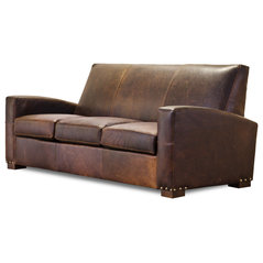 Prescott Art Deco Sofa