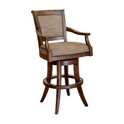 Barker Swivel Stool With Arms