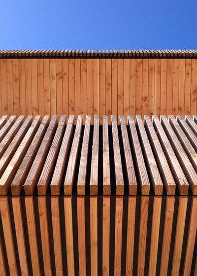 Architecture une maison ouverte biscarosse for Architecte italien contemporain