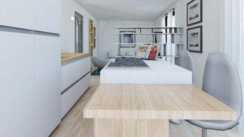 Online Homestaging attico