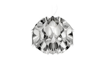 Flora Suspension Lamp, Silver