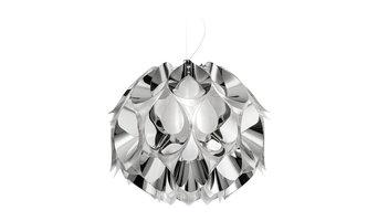 Flora Suspension Lamp, Silver