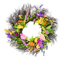 """24"""" Bright Mixed Floral Wreath"""