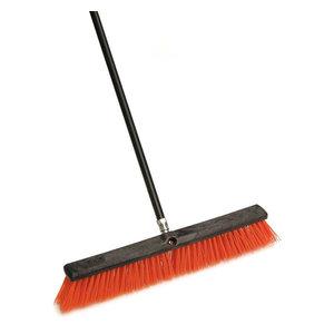 "Laitner Brush Company 454A 16/"" Orange Street Broom"