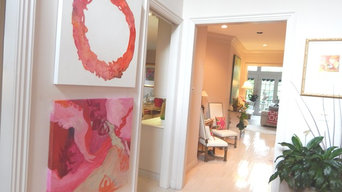 Art - Original Abstract Paintings, diptych, each 36 x 36