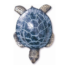 SPI   Sea Turtle Brass Door Knocker   Door Knockers