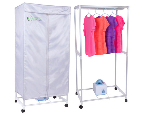 Exceptionnel Simple Living Electric Portable Clothes Drying Rack   Compact Wardrobe Dryer