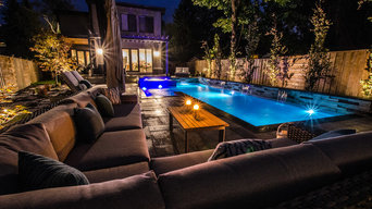 Modern Pool South East Mississauga