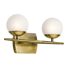 Bathroom Lighting Houzz brass bathroom vanity lights | houzz