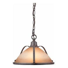 Volume Lighting V2640 Altamonte 1 Light Pendant
