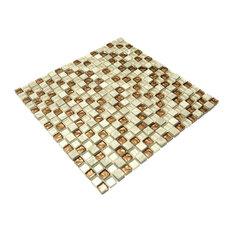 Orange Ornament - 3-Dimensional Mosaic Decorative Wall Tile(2PC)