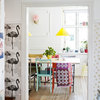 Houzz Tour: A Flat Full of Bright Colour, Bold Pattern and Scandi Cool