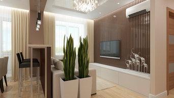 Двухкомнатная квартира в Воронеже, 62 кв.м