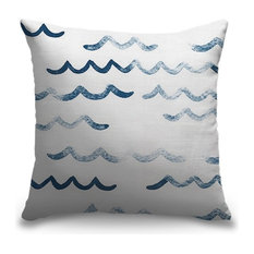 """""""Smile and Wave"""" Pillow 16""""x16"""""""
