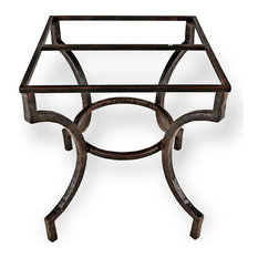 Corinthian Dining Table Base Only, Aged Bronze