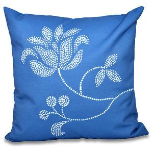 Geometric Print Pillow E by design PGN559YE6-18 Marble Gold