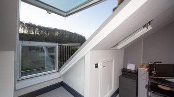 Loft conversion with Velyx Balcony