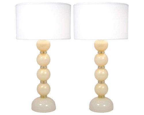 murano glass lighting table lamps