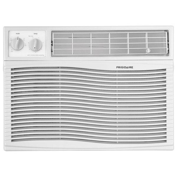 Window Air Conditioner, Mechanical Controls, 12000 BTU