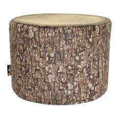 Forest Mini Tree Stump Pouffe