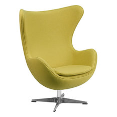 Flash Furniture   Egg Chair With Tilt Lock Mechanism   Armchairs And Accent  Chairs