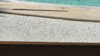 Pavimentazione esterna in bordo piscina - Rock Wash