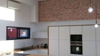 électricité et éclairage maison contemporaine