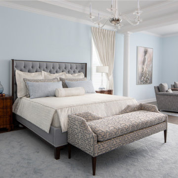 MASTER BEDROOM AND SITTING ROOM