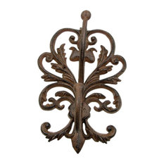 Large Cast Iron Wall Double Hook