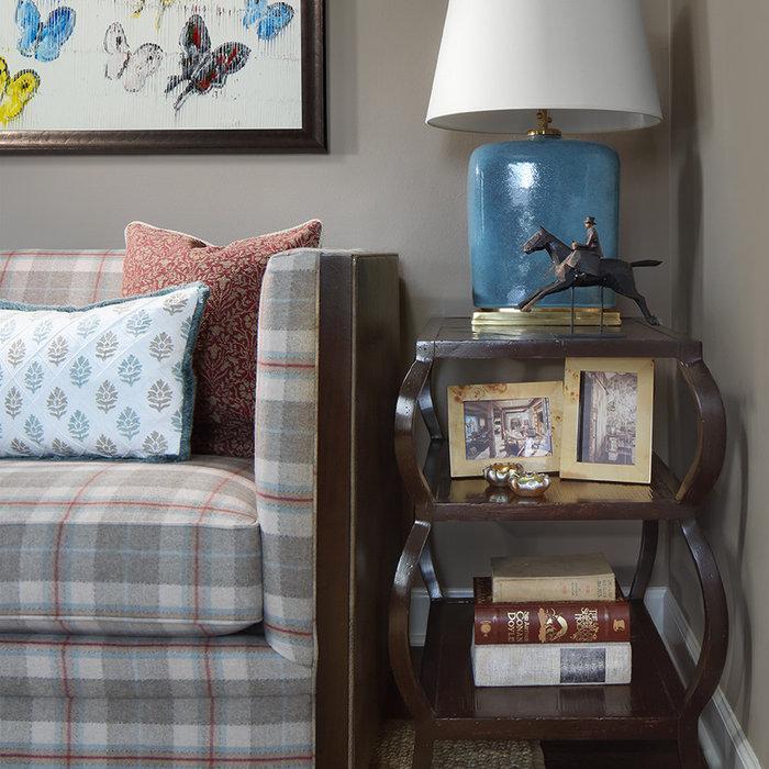Playful English Living Room