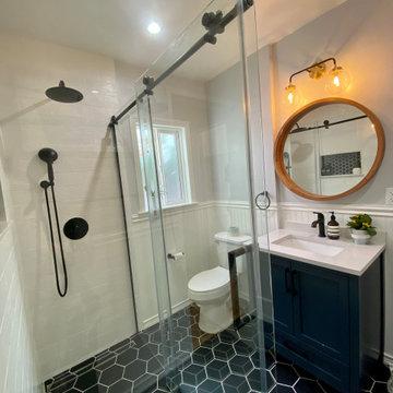 Modern Mid Century Bathroom Remodel