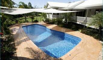 Contemporary Style Fiberglass Swimming Pool