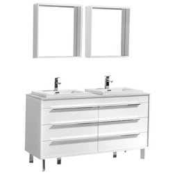 Popular Modern Bathroom Vanities And Sink Consoles by Aquamoon