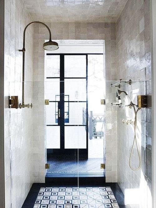 zellige tile in a bathroom