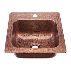 "Seurat 15"" Drop-In Copper Bar Prep Sink"