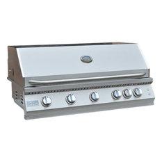 KoKoMo Grills - KoKoMo Grills - Professional 5 Burner Built In Grill, Natural Gas - Outdoor Grills