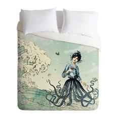 Deny Designs Belle13 Sea Fairy Duvet Cover - Lightweight