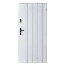 Gutenberg Contemporary Front Door, White, 97 cm