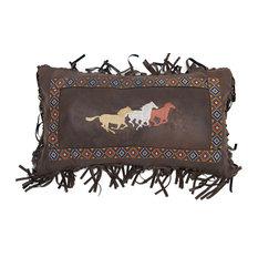 Three Horses Pillow