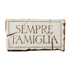 """""""Family Is Forever"""" Italian Wall Plaque"""