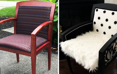 New Furniture Project Rehab Office Chairs Go Boutique Chic
