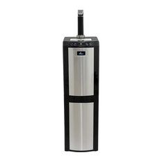 Bottom Load Water Dispenser (Hot, Room And Cold) Black/Stainless Steel
