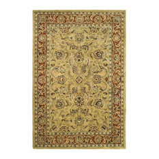 """Safavieh Classic Collection CL398 Rug, Gold/Red, 8'3""""x11'"""