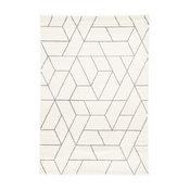 "Jaipur Living Titan Geometric White/Gray Area Rug, 2'x3'11"""