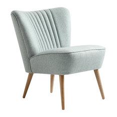 Harry Cocktail Chair, Light Blue