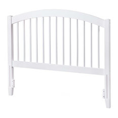 Leo & Lacey Full Spindle Headboard In White