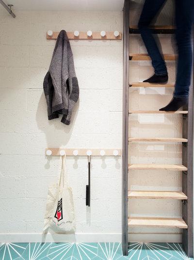 houzzbesuch eine garage in paris wird zur hellen familienwohnung. Black Bedroom Furniture Sets. Home Design Ideas