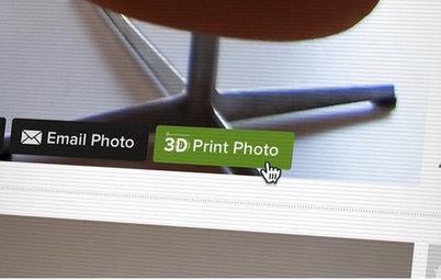 Houzz Announces 3D Furniture Printing
