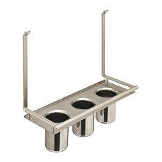 Utensil Holder For Backsplash Railing System