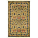 """Unique Loom - Unique Loom Carnation Edinburgh Area Rug, Navy Blue, 3'3""""x5'3"""" - The classic look of the Edinburgh Collection is sure to lend a dignified atmosphere to your home. With an array of colors and patterns to choose from, there�s a rug to suit almost any taste in this collection. This Edinburgh rug will tie your home�s decor together with class and amazing style."""